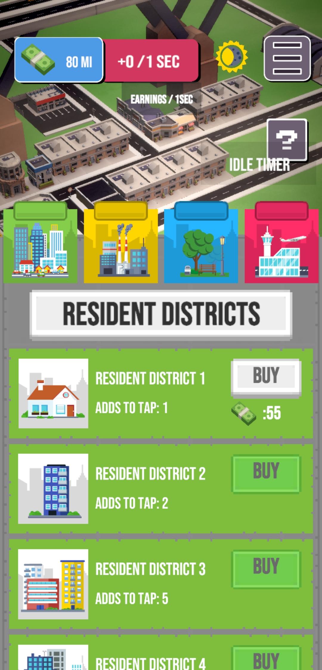 City Master Resident upgrades